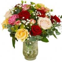 alla hjärtans dag blommor